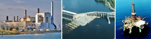 Centrales d'énergie usine de retraitement des déchets plate forme off shore